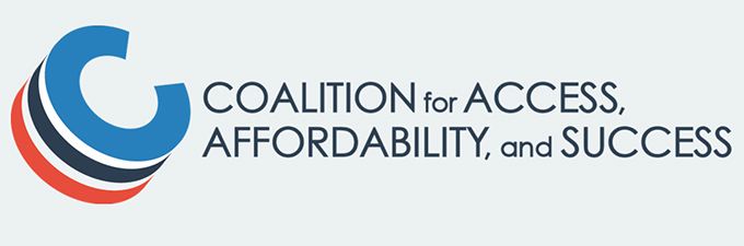 Logo for the Coalition for Access, Affordability and Success